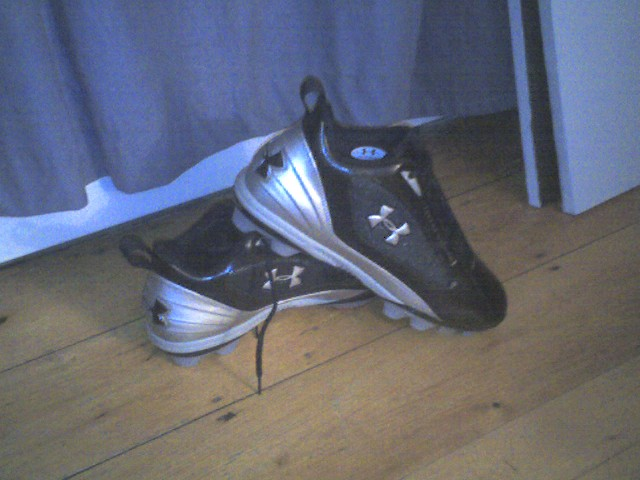 Under Armour 2007 - Can My New Cleats   Meet the Challenge of a New Season?